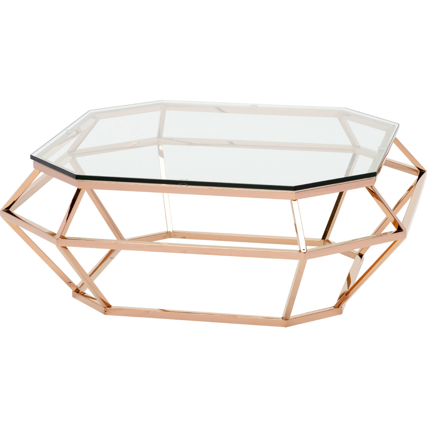 Glass And Gold Coffee Table Rascalartsnyc