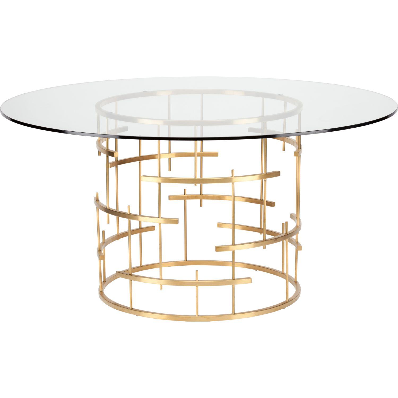 Nuevo Modern Furniture Hgsx216 Tiffany Round 59 Quot Dining