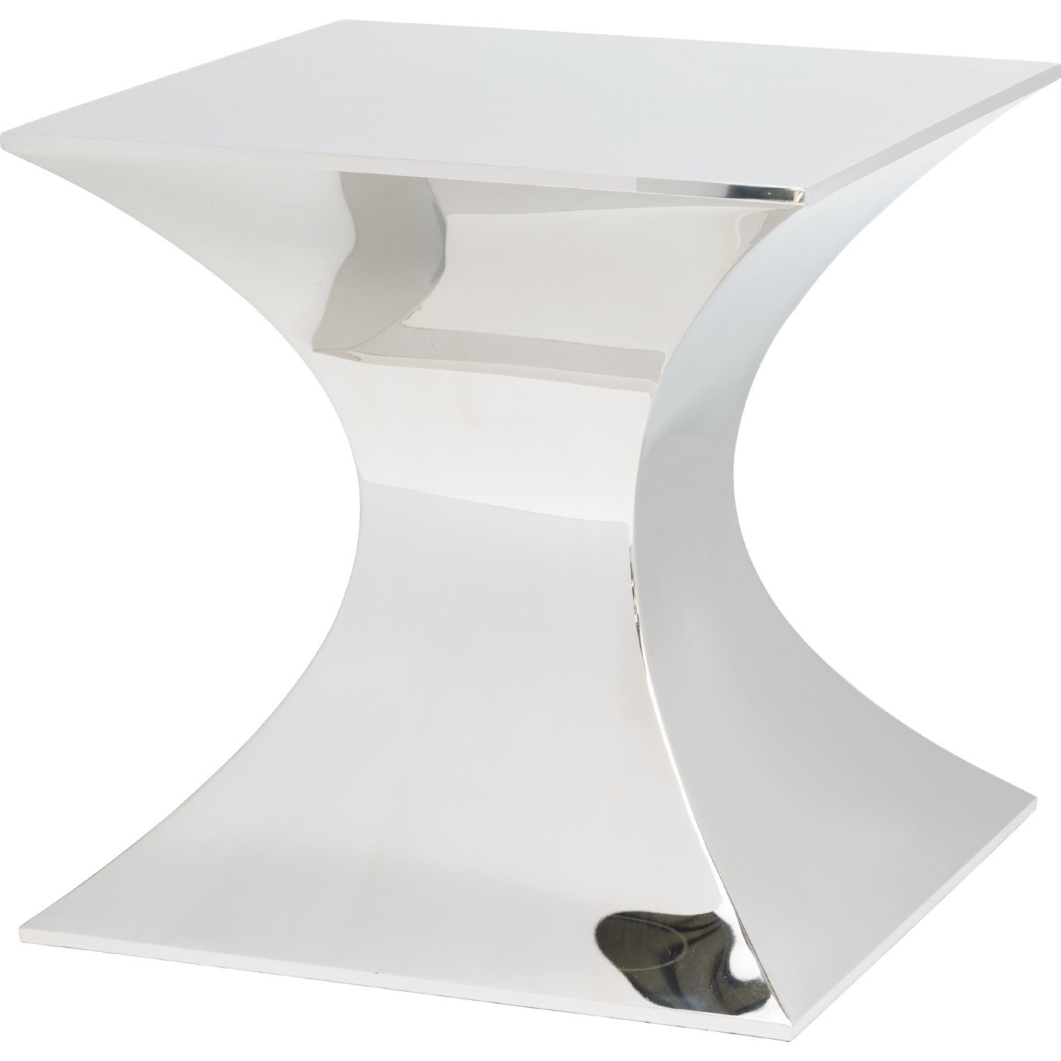 Nuevo Modern Furniture HGSX254 Praetorian Side Table in Polished