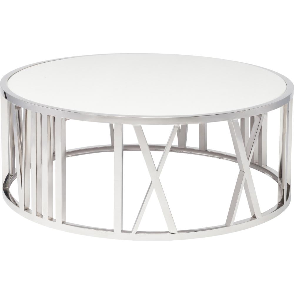 Nuevo Modern Furniture HGTB Roman Coffee Table In Polished - Nuevo marble coffee table