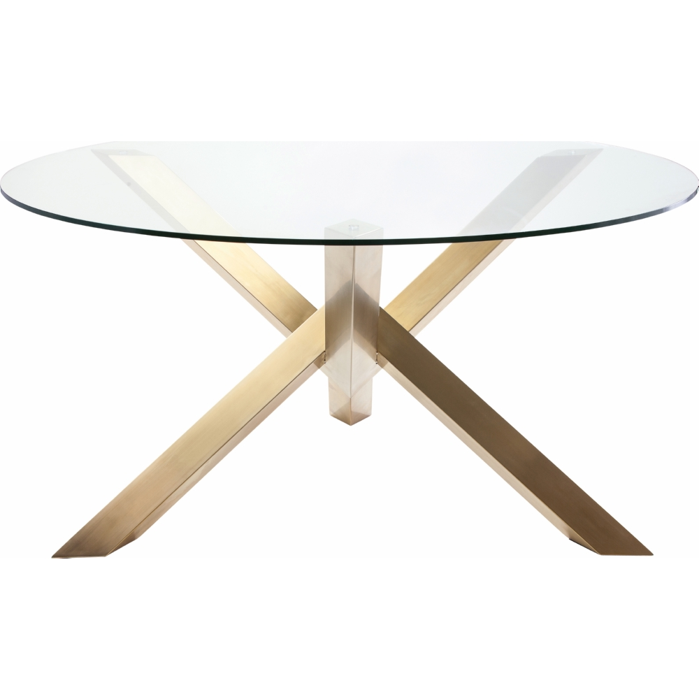 Nuevo Modern Furniture HGTB Costa Round Dining Table W - 72 round modern dining table