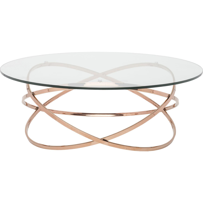 nuevo modern furniture hgtb406 corel coffee table in clear glass