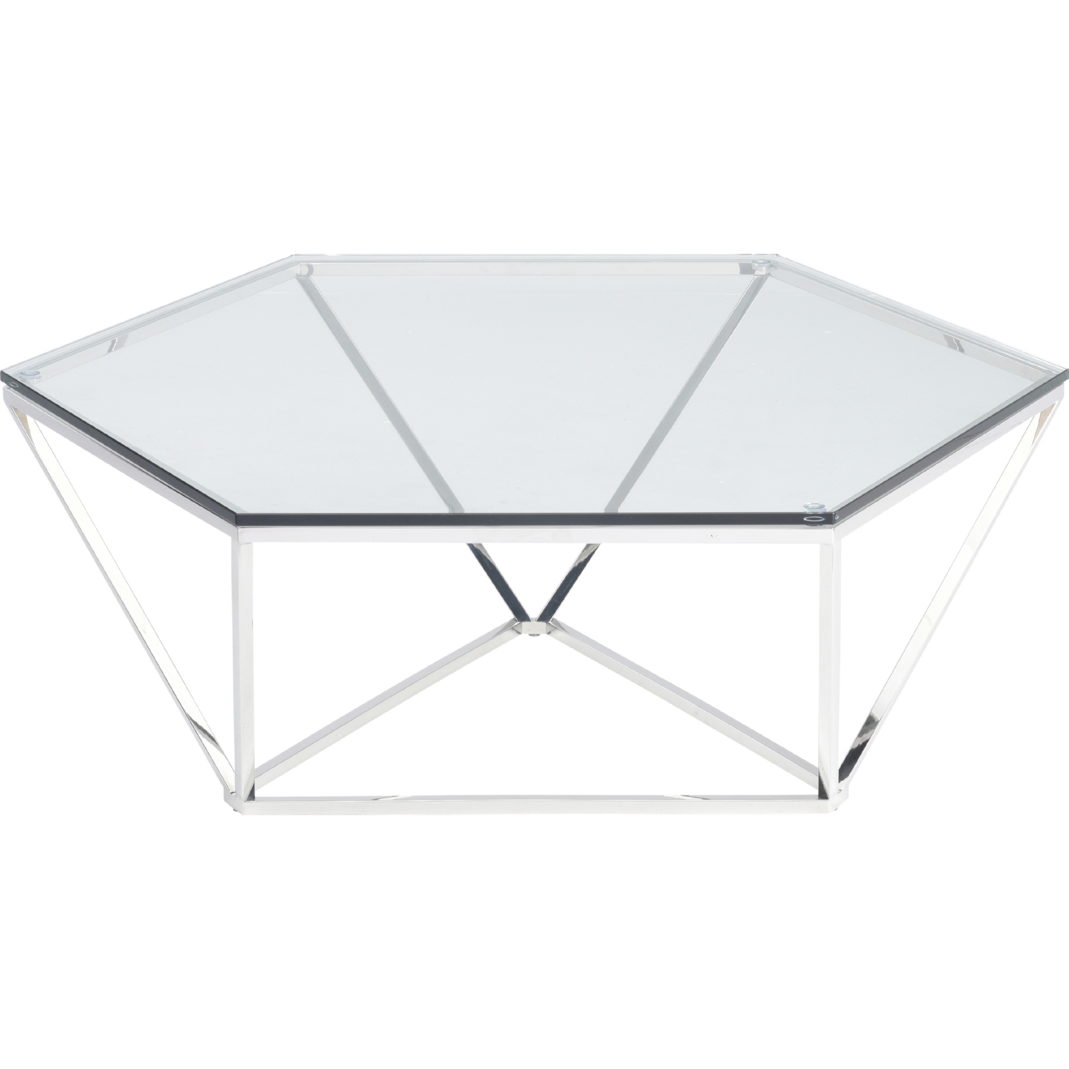 Incredible Louisa Coffee Table W Tempered Glass Top On Polished Stainless Base By Nuevo Modern Furniture Andrewgaddart Wooden Chair Designs For Living Room Andrewgaddartcom