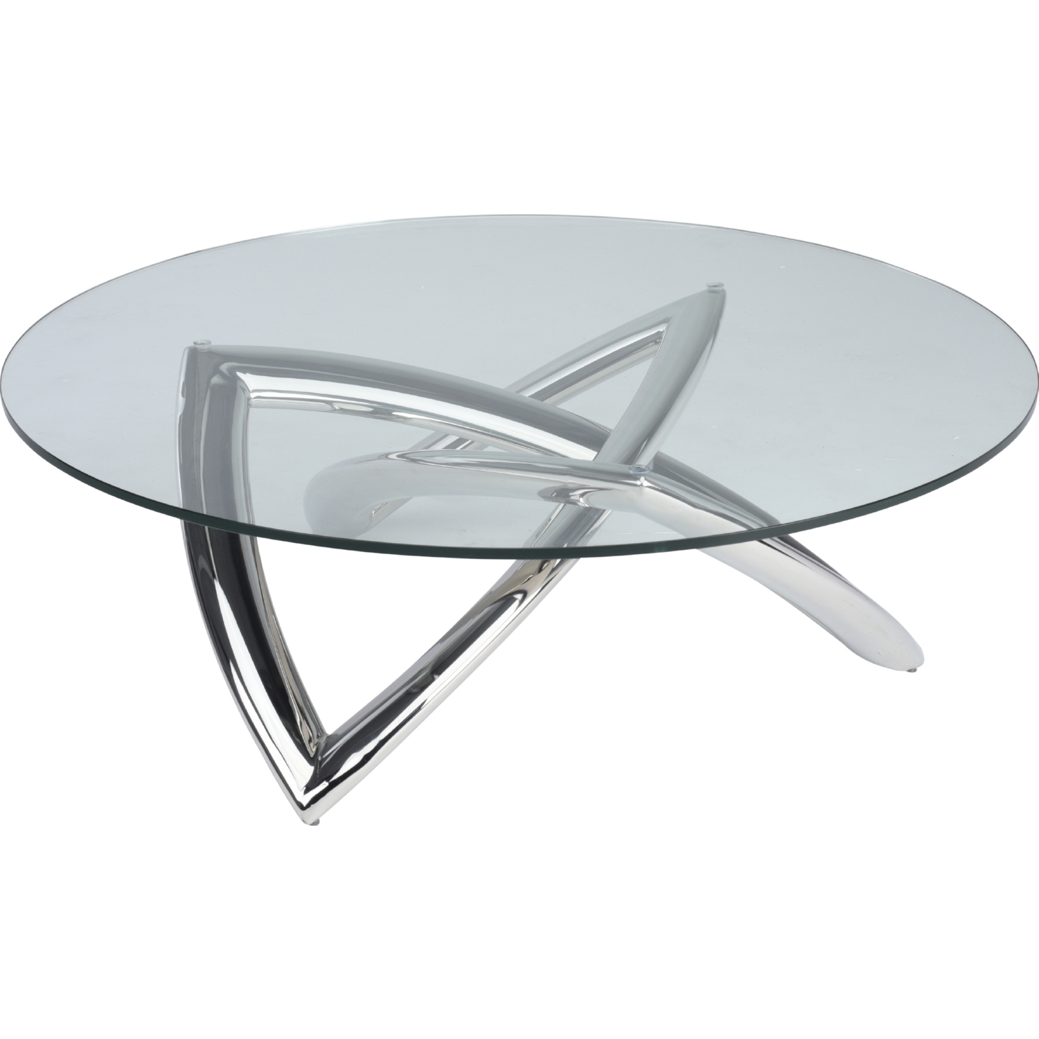 Nuevo Modern Furniture HGTB485 Martina Coffee Table w Tempered