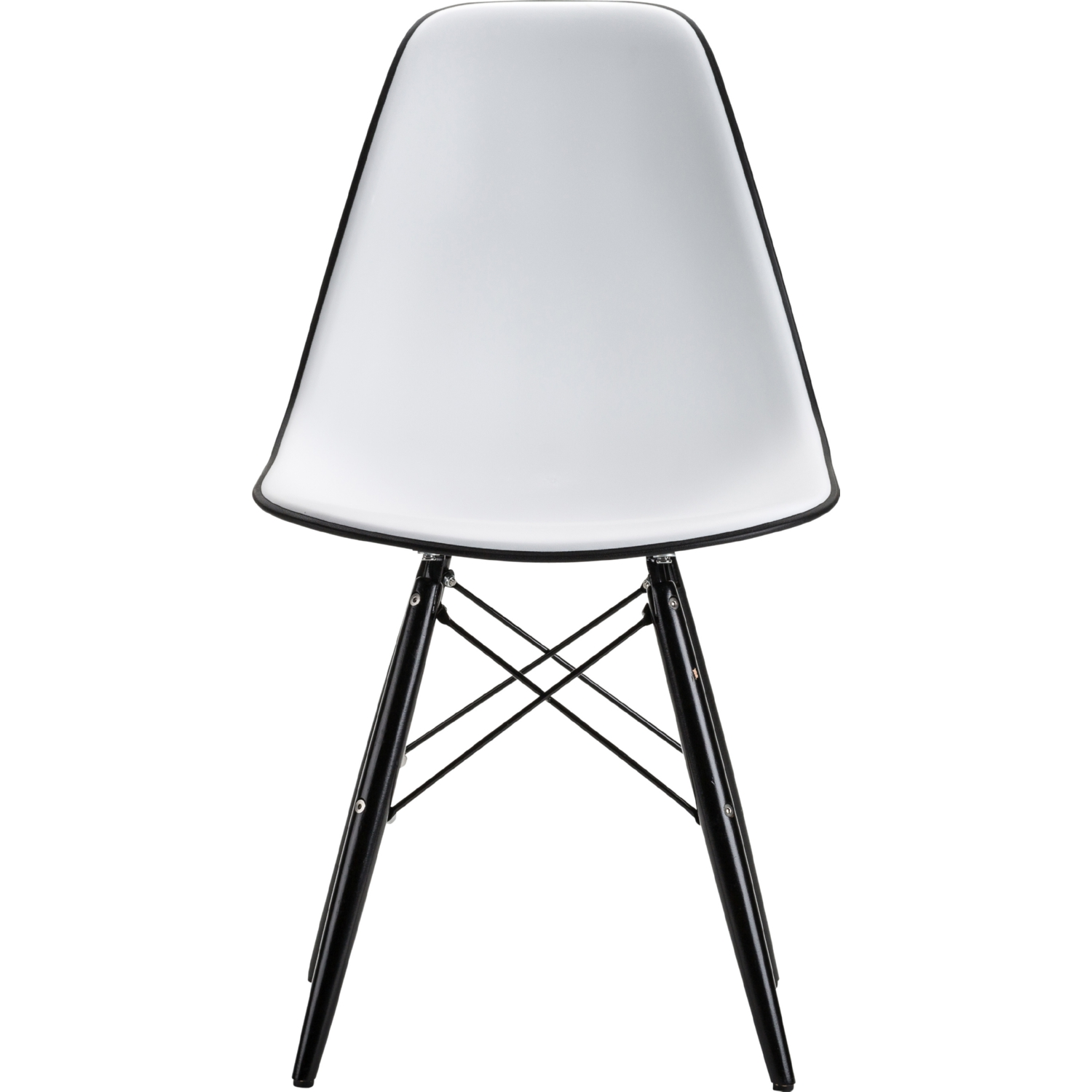 Nuevo Modern Furniture HGZX361 Felicia Dining Chair in White Poly