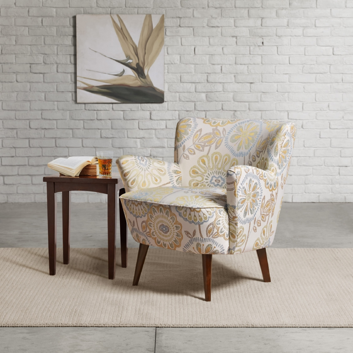 Madison Park Fpf18 0498 Sophie Arm Chair In Quilted