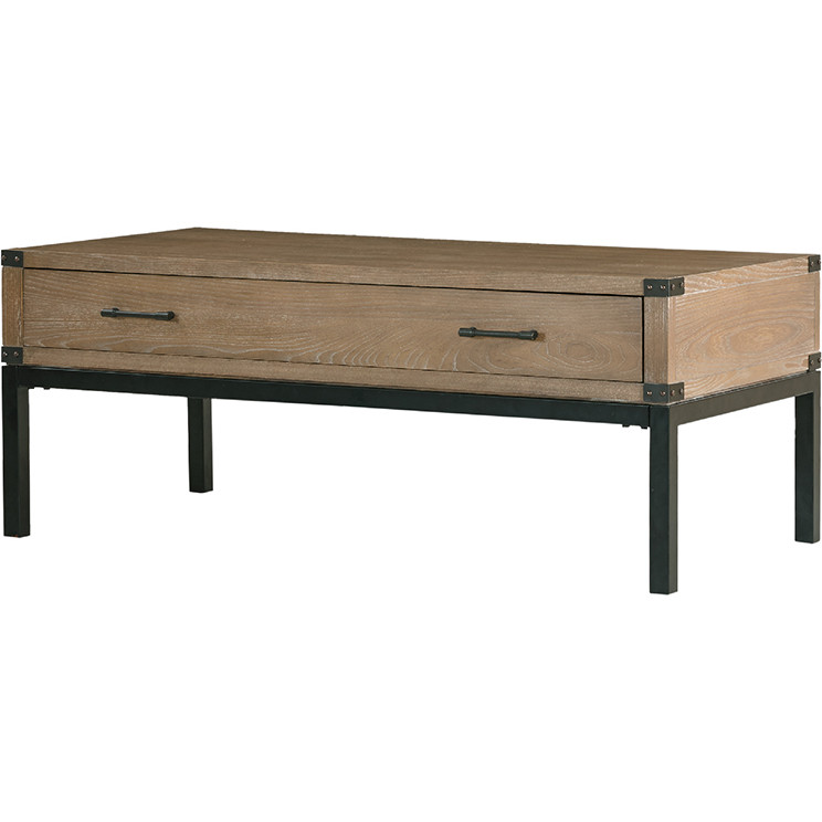 Harbor House HH1200107 Fraser Coffee Table in Grey Washed Wood