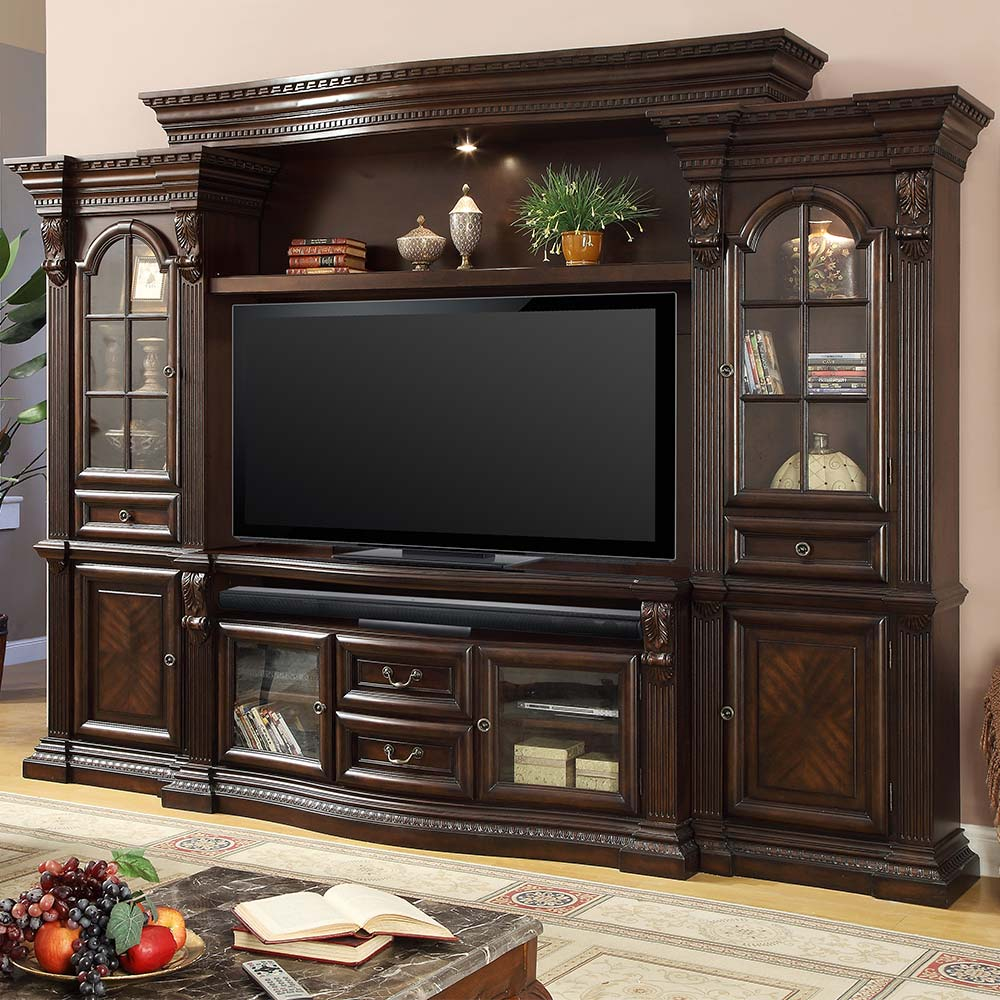 "House Furnishings: Parker House BEL#700-4 Bella Estate 67"" 4 Piece"