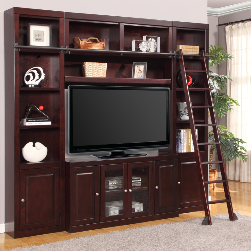 Home Entertainment Spaces: Parker House BOS#4PC-SS Boston Space Saver Entertainment