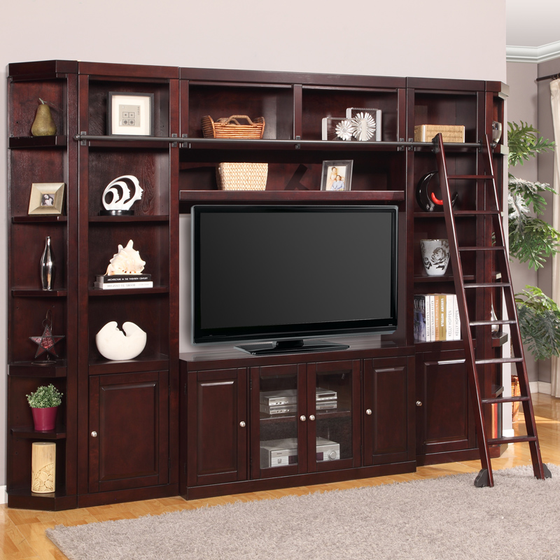 Home Entertainment Spaces: Parker House BOS#6PC-SS Boston Space Saver Entertainment