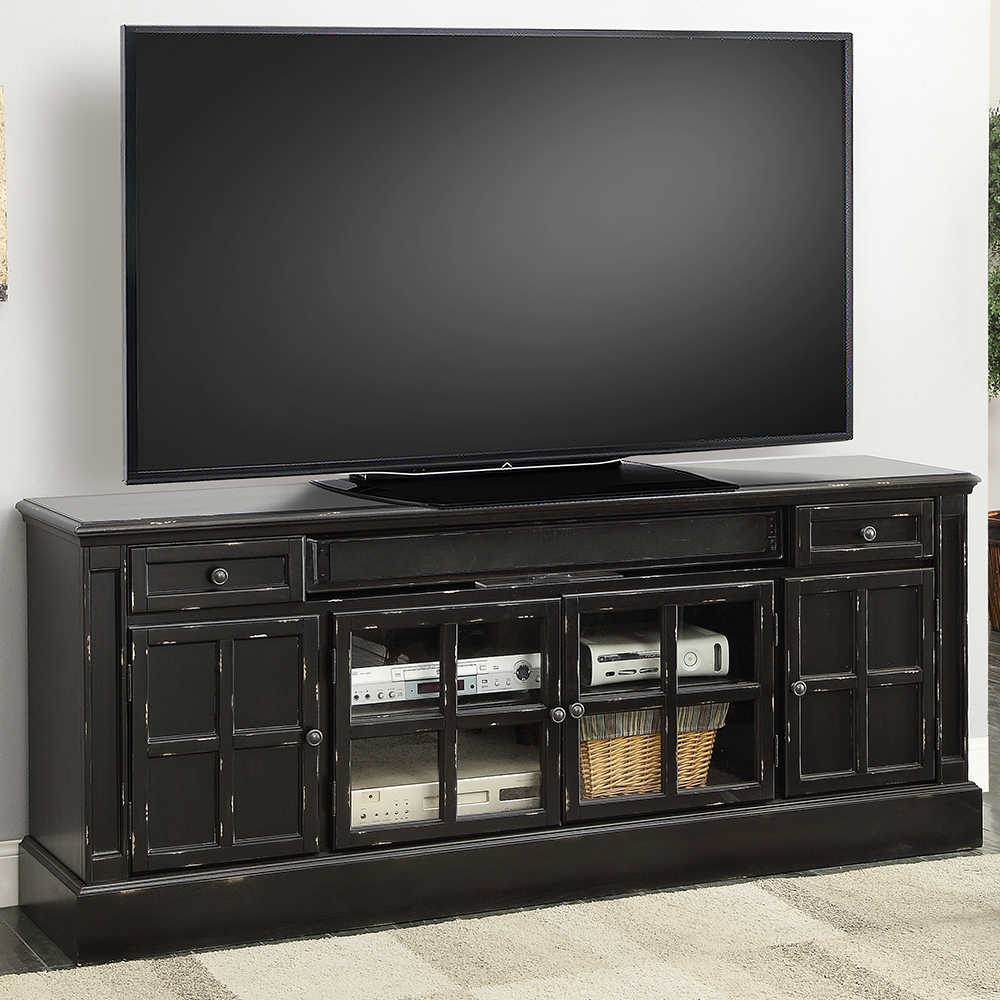 Parker house con 72 concord 73 tv stand console in for Home decor 72