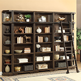 Parker House Furniture Wall Units Entertainment Centers