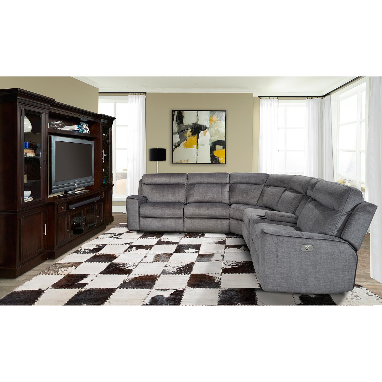 Parker House MPAR 6PC SECTIONAL Parthenon 6 Piece Sectional Sofa