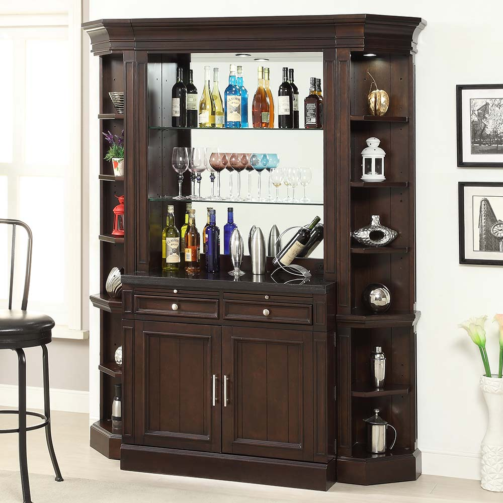 Furniture For Home: Parker House STA#465-2 Stanford Library 4 Piece Bar Base