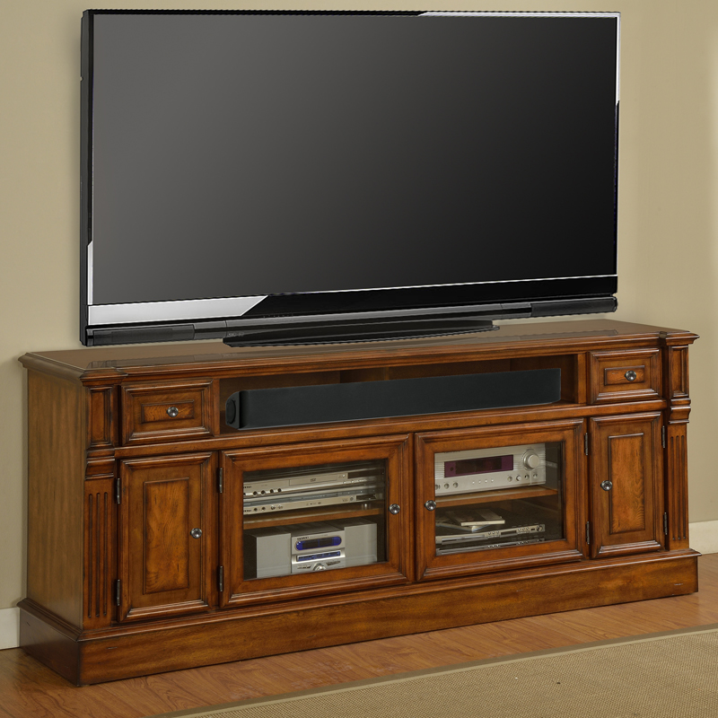 Finest TV Television Stands 71 & Wider at Dynamic Home Decor TS54
