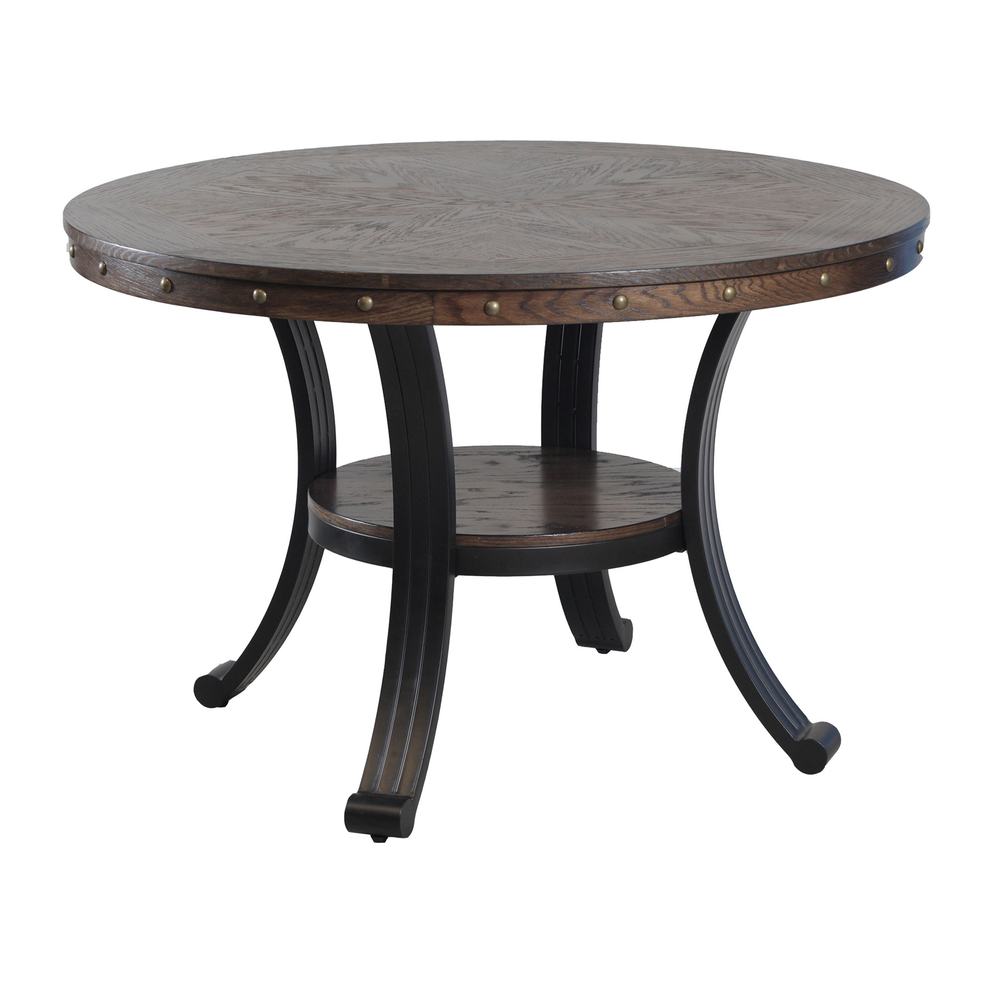 Powell 15D2020 Franklin 5 Piece Dining Set in Wood & Metal - Table ...