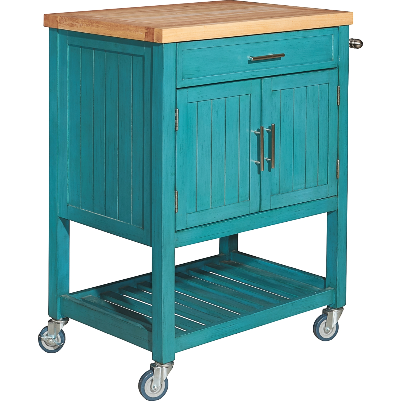 kitchen cart teal vtg 50s cosco teal torquoise. Black Bedroom Furniture Sets. Home Design Ideas