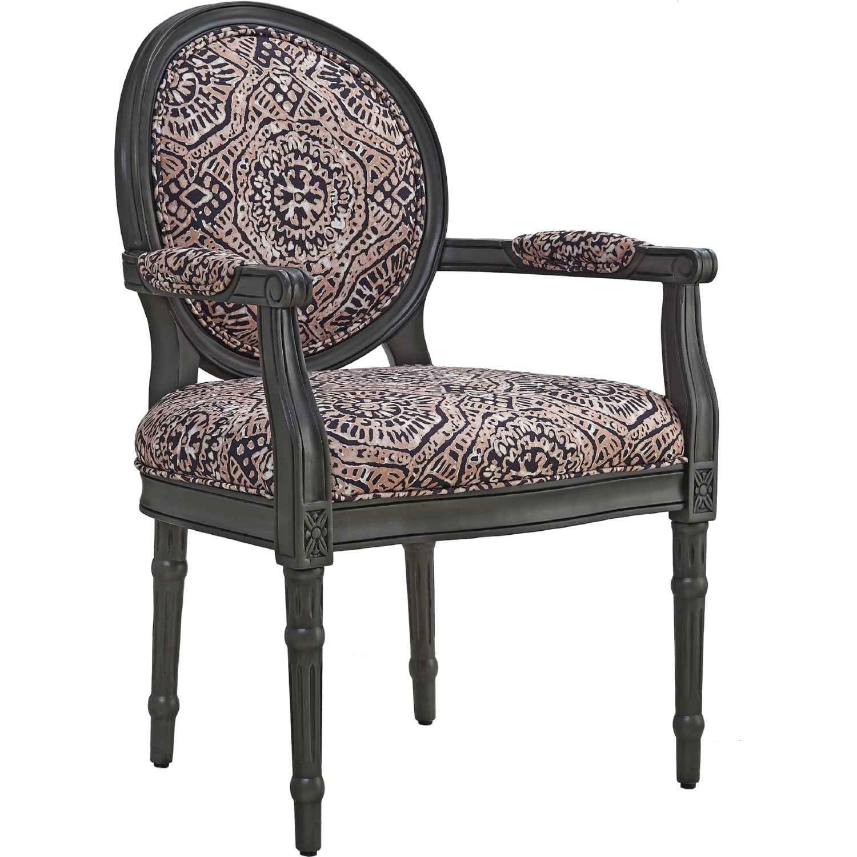 Fine Sonya Accent Chair In Grey Wood W Multicolor Fabric By Powell Inzonedesignstudio Interior Chair Design Inzonedesignstudiocom