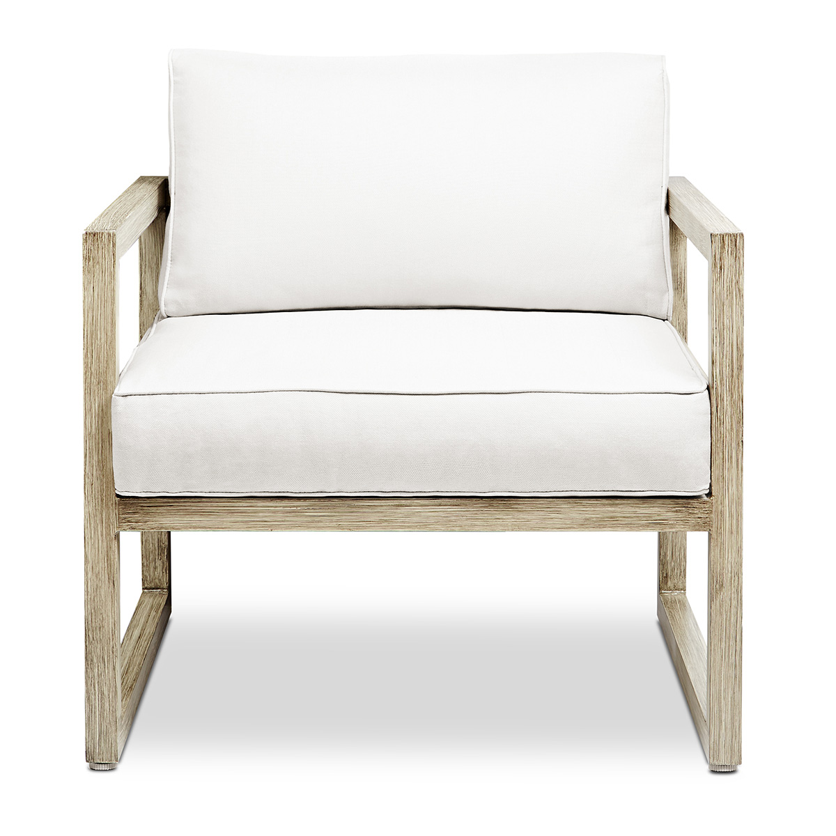 Excellent Monaco Outdoor Chairs In Brushed Antique White Aluminum W Weather Resistant Fabric Cushions Set Of By Real Flame Inzonedesignstudio Interior Chair Design Inzonedesignstudiocom