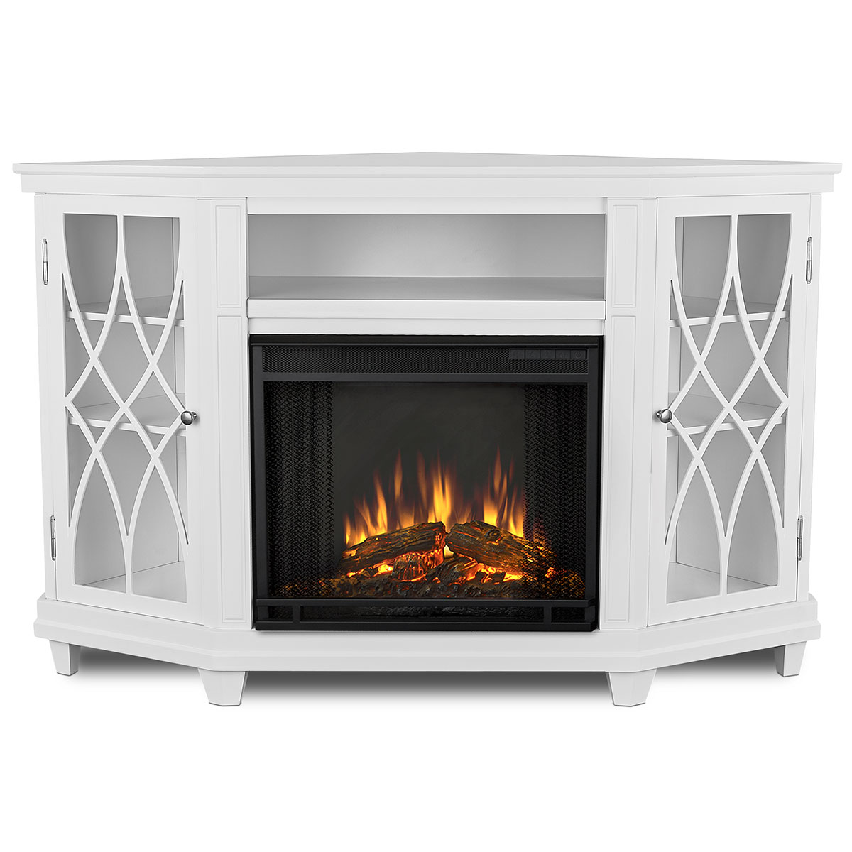 Real Flame 1750e W Lynette Corner Indoor Electric