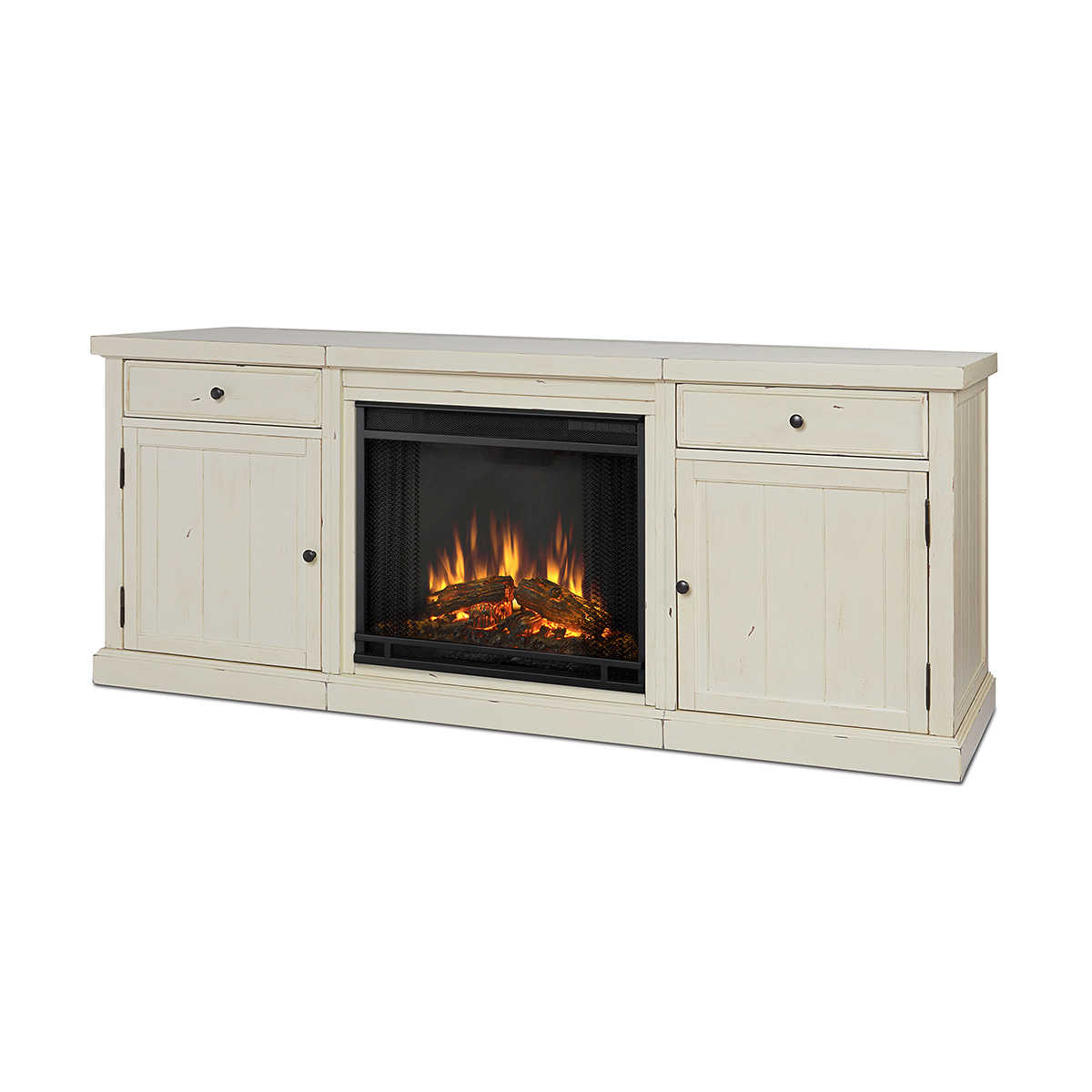 Real Flame 2720E DSW Cassidy 68 TV Stand W Ventless