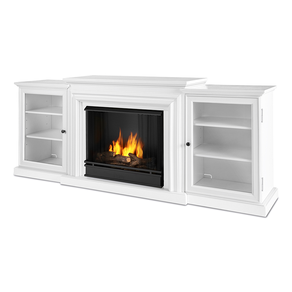 Real Flame 7740 W Frederick TV Stand W Ventless Gel