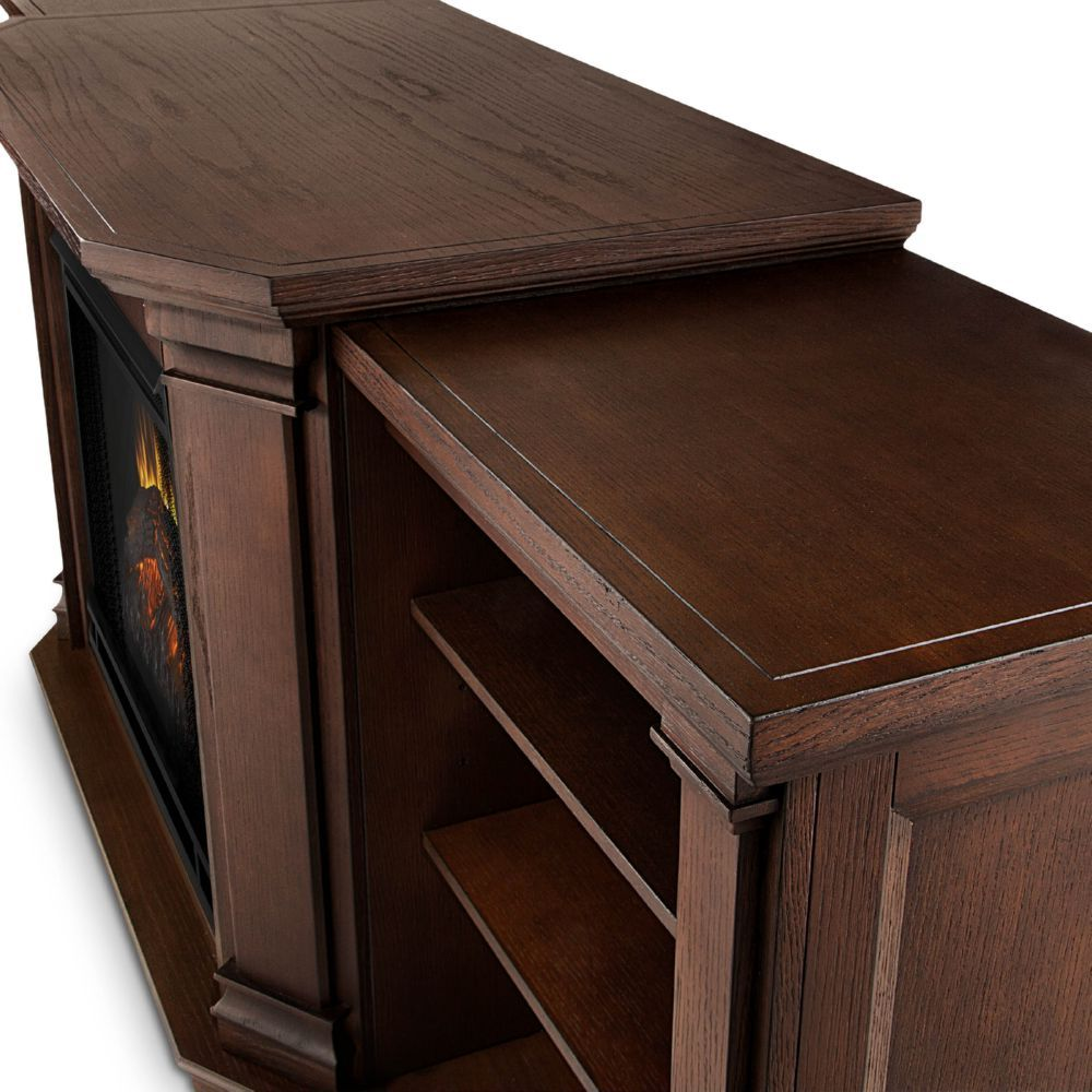 real flame 7930e co valmont tv stand w ventless electric