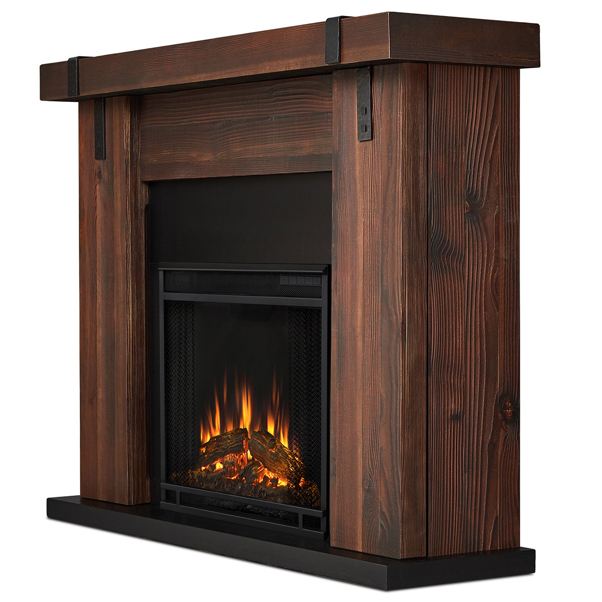 wall lumber sustainable planks reclaimed company products fireplace barnwood wood