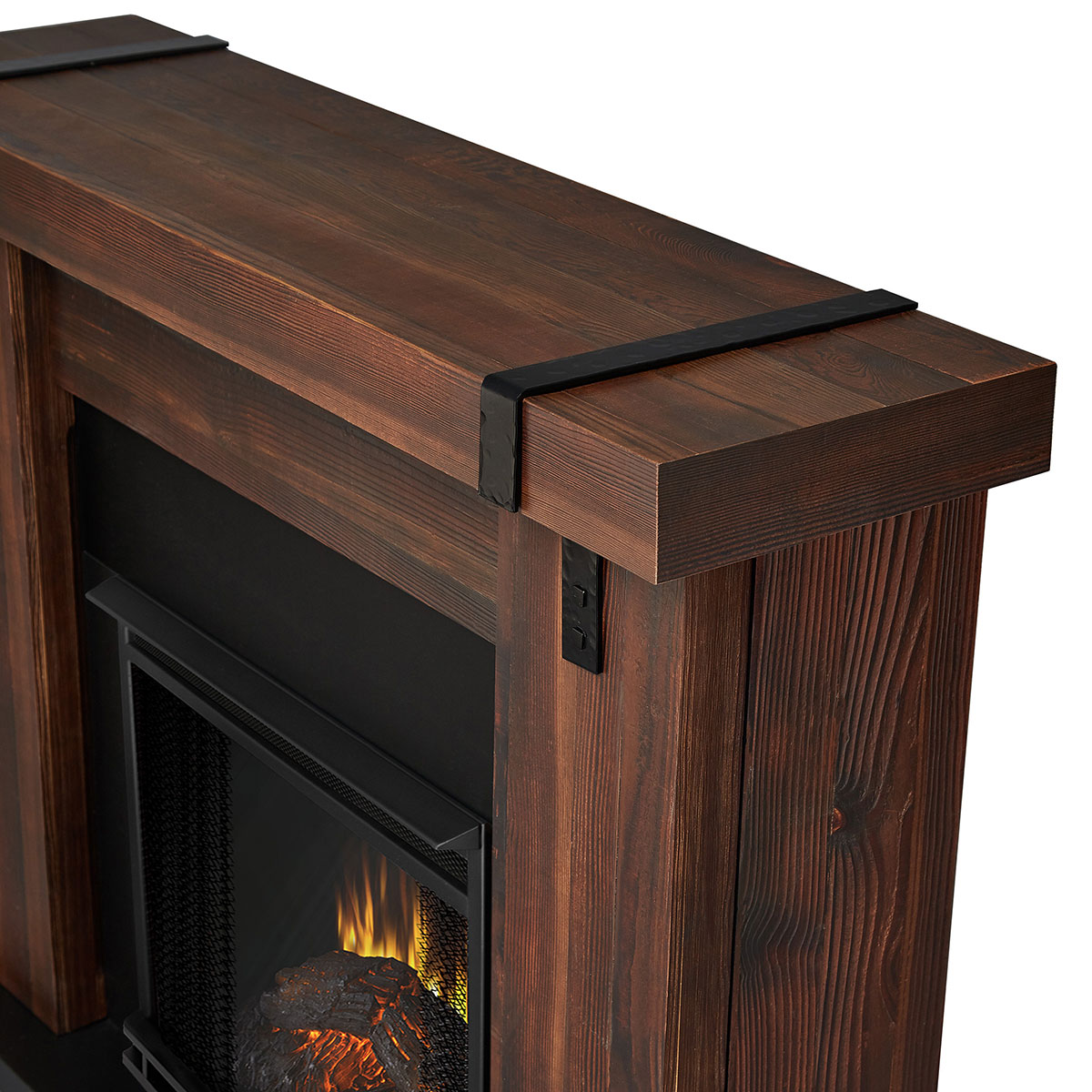 real flame 9220e chbw aspen indoor ventless electric fireplace in