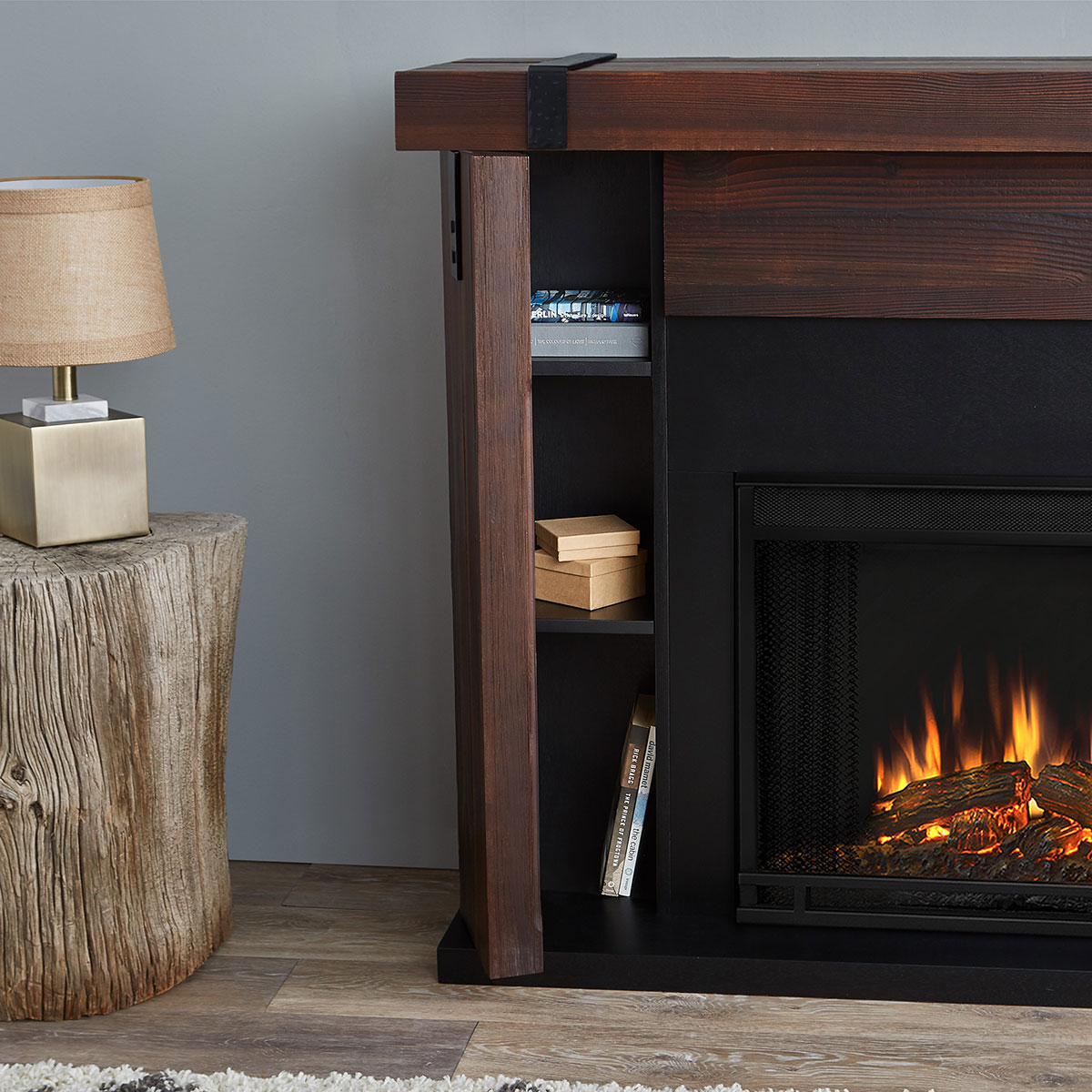 Real Flame 9220E-CHBW Aspen Indoor Ventless Electric Fireplace in ...