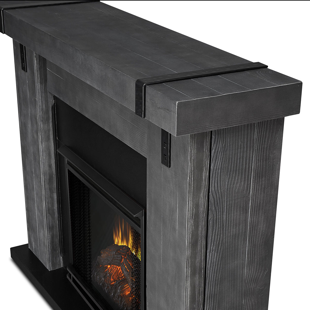 real flame 9220e gbw aspen indoor ventless electric fireplace in