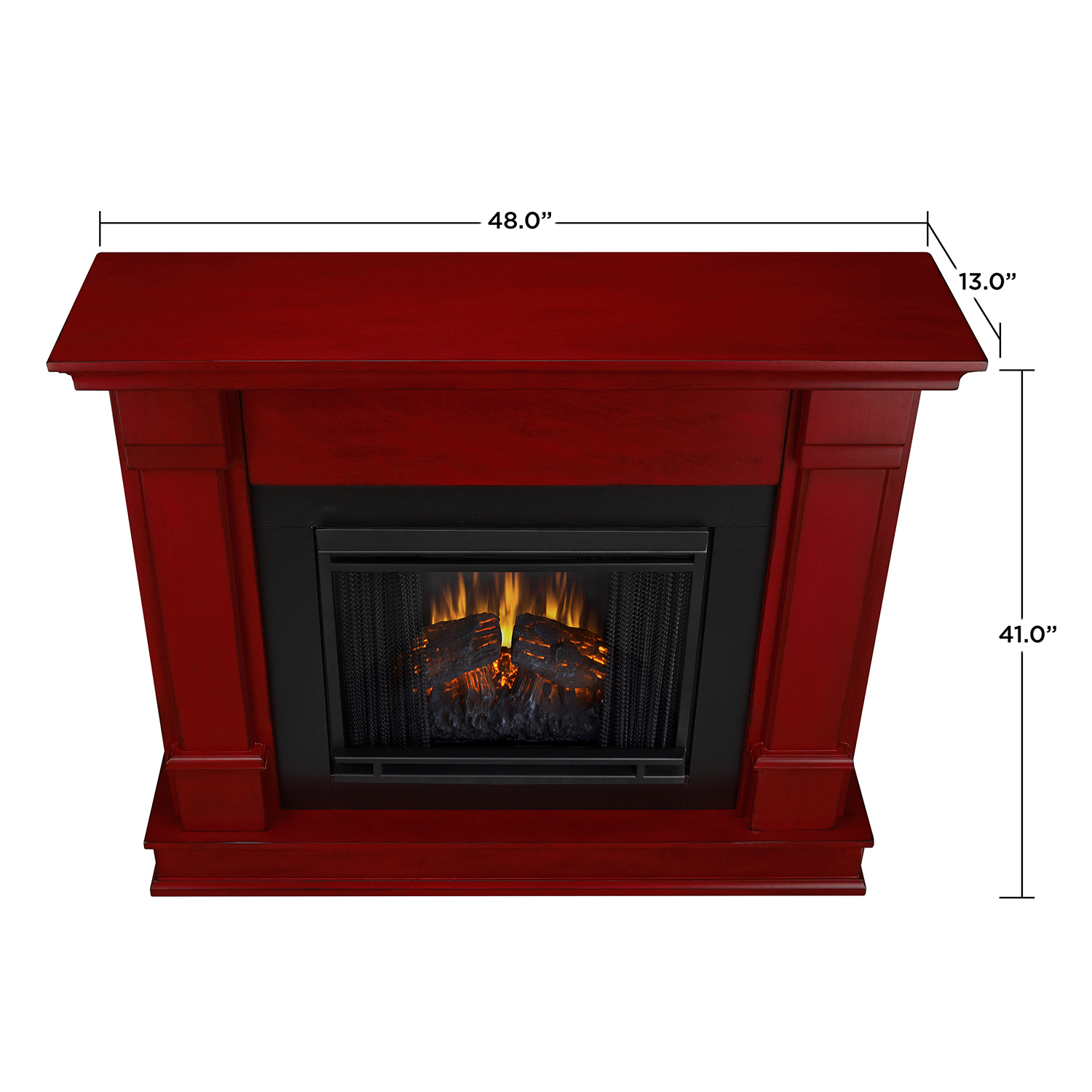 real flame g8600e rr silverton indoor ventless electric fireplace