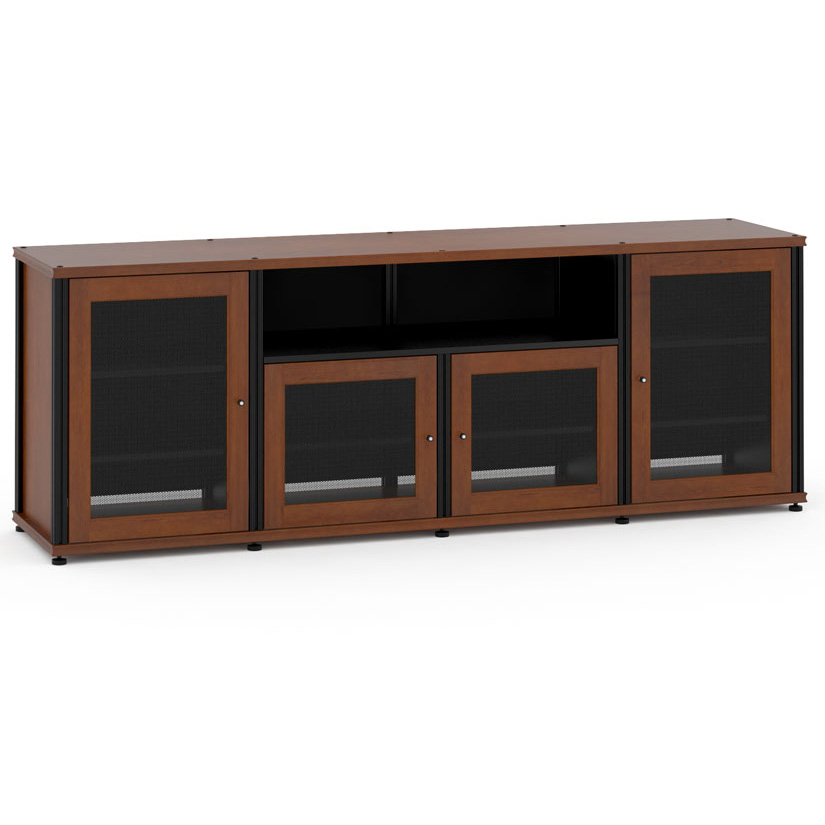 Salamander Designs Sb345c B Synergy System 345 Quad Width 87 Av Cabinet Tv Stand In Cherry W