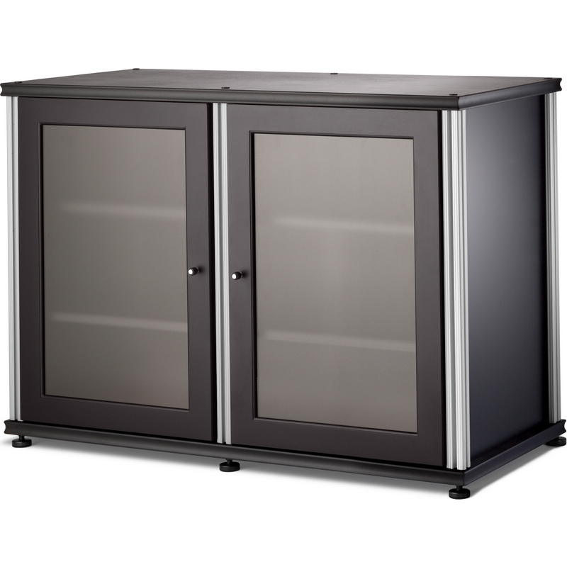 """salamander designs sb-323 synergy 44"""" tv stand & audio cabinet in"""