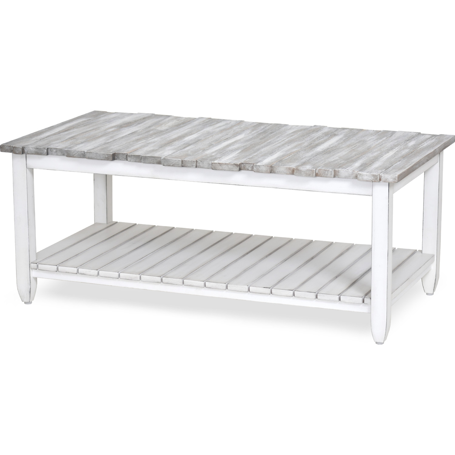 Distressed Gray Coffee Table.Picket Fence Coffee Table In Distressed Grey White By Sea Winds