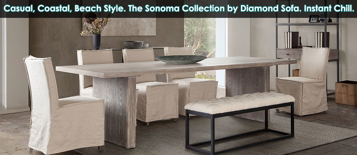 Diamond Sofa Sonoma at Dynamic Home Decor