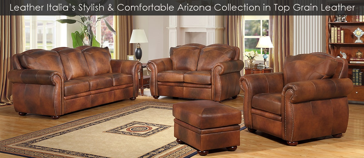 Leather Italia Furniture at Dynamic Home Decor