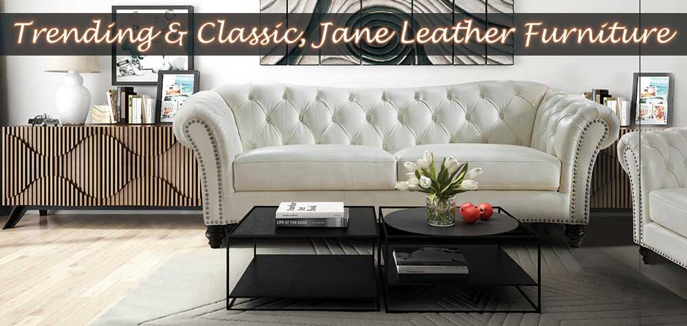Jane Leather Furniture at Dynamic Home Decor