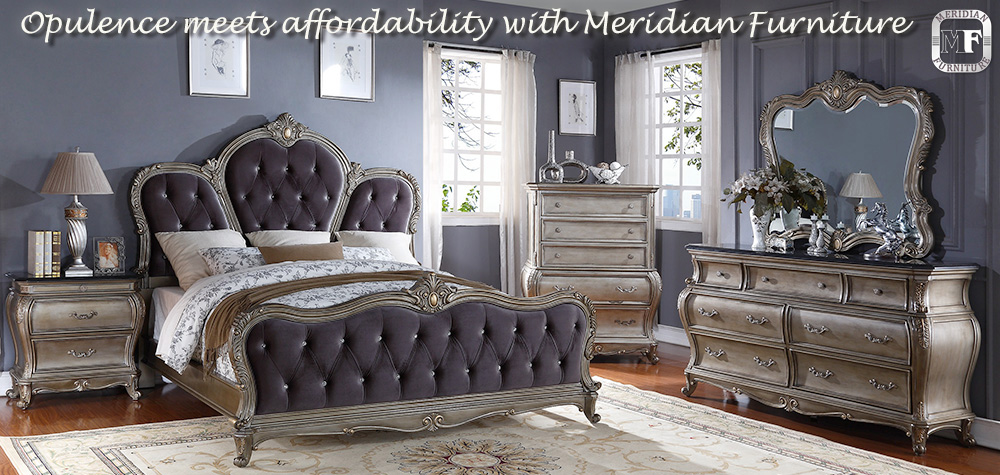 Meridian Furniture Opulence On a Budget