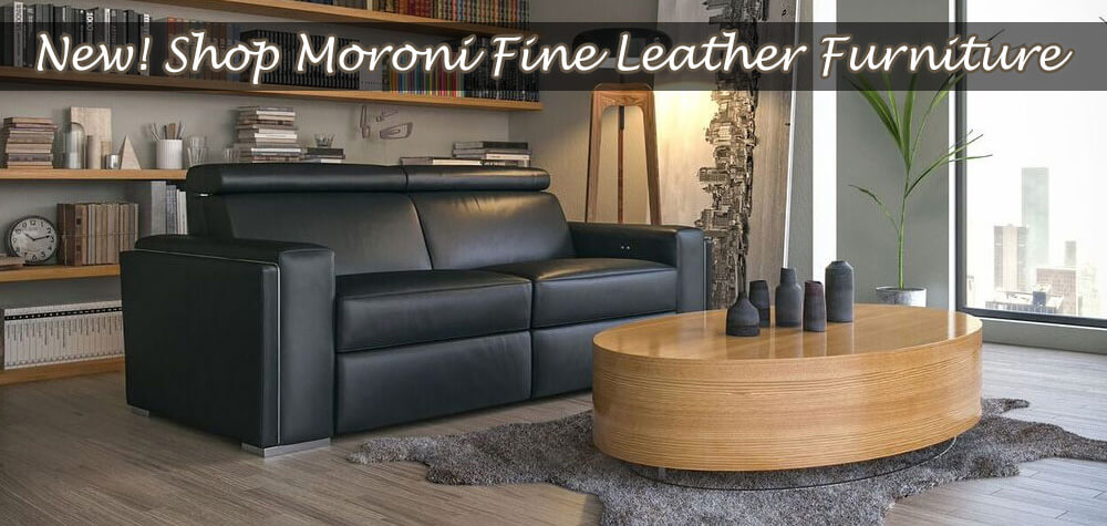Moroni Fine Leather Furniture at Dynamic Home Decor