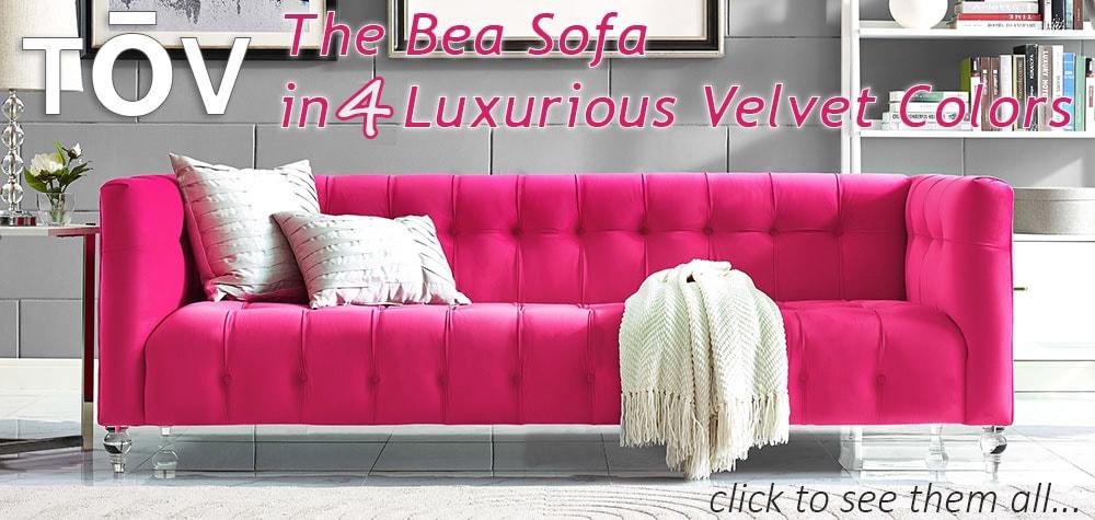 Tov Designer Furniture Bea Sofa