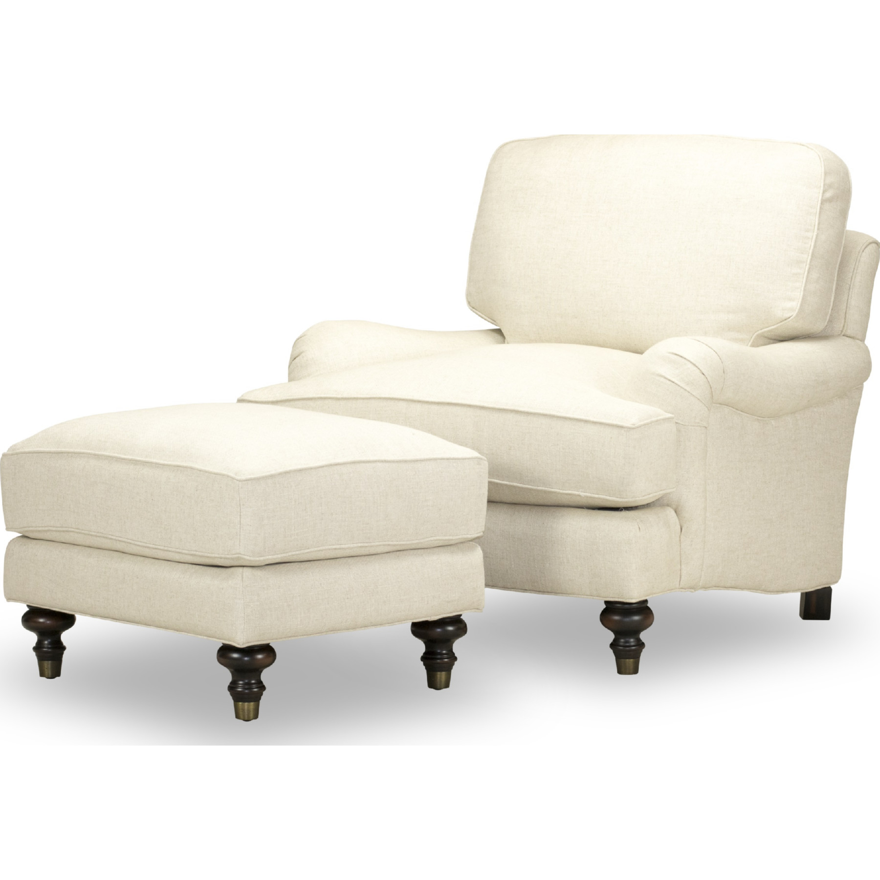 Magnificent Sloane Ottoman In Tribeca Natural Fabric By Spectra Home Furnishings Pdpeps Interior Chair Design Pdpepsorg