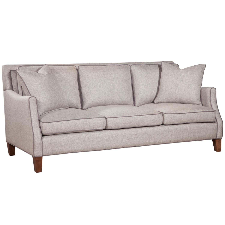 Ta Iredell Sofa In Ash Dublin Gray Fabric