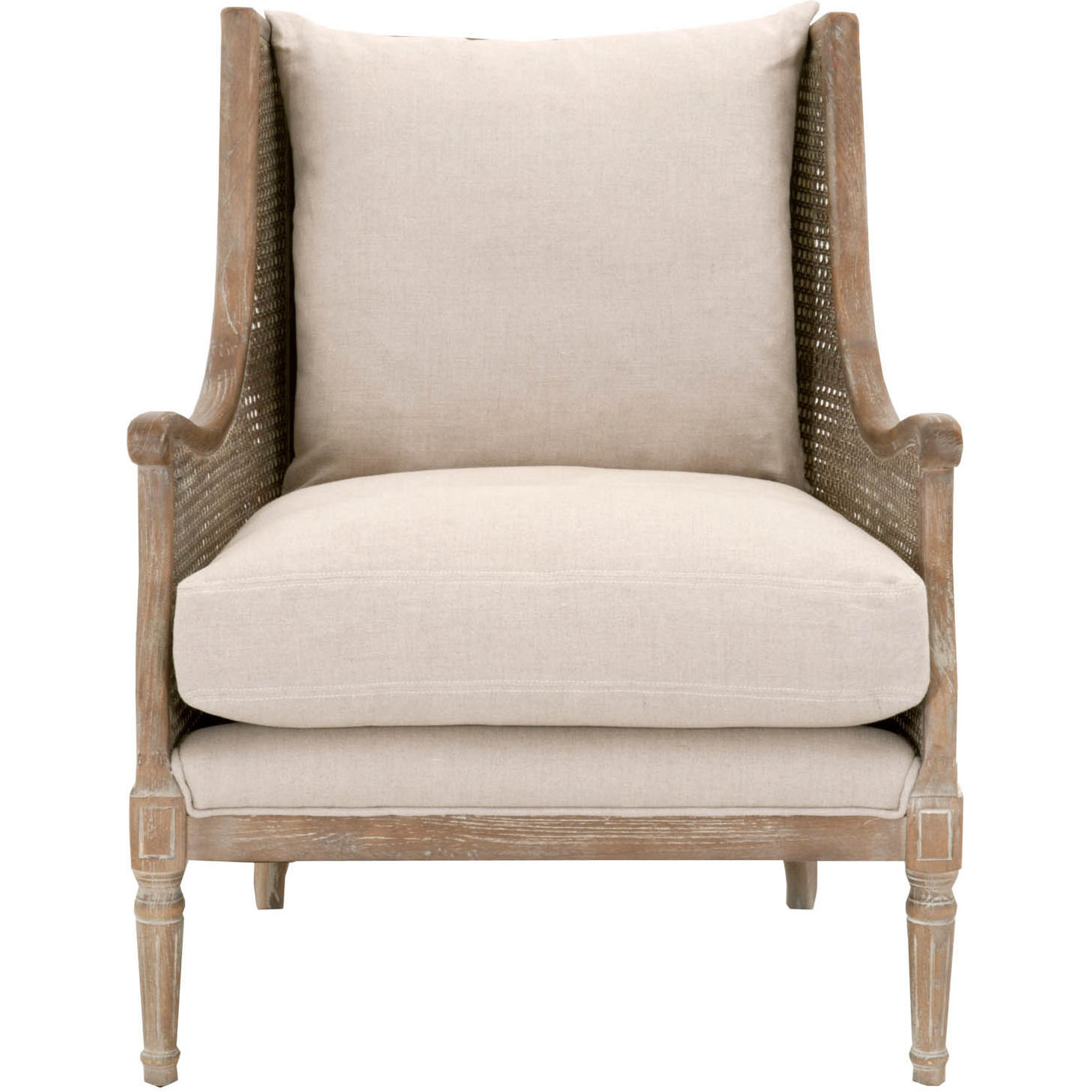 Orient Express 8213 Snd W Churchill Club Chair In Sand Linen On