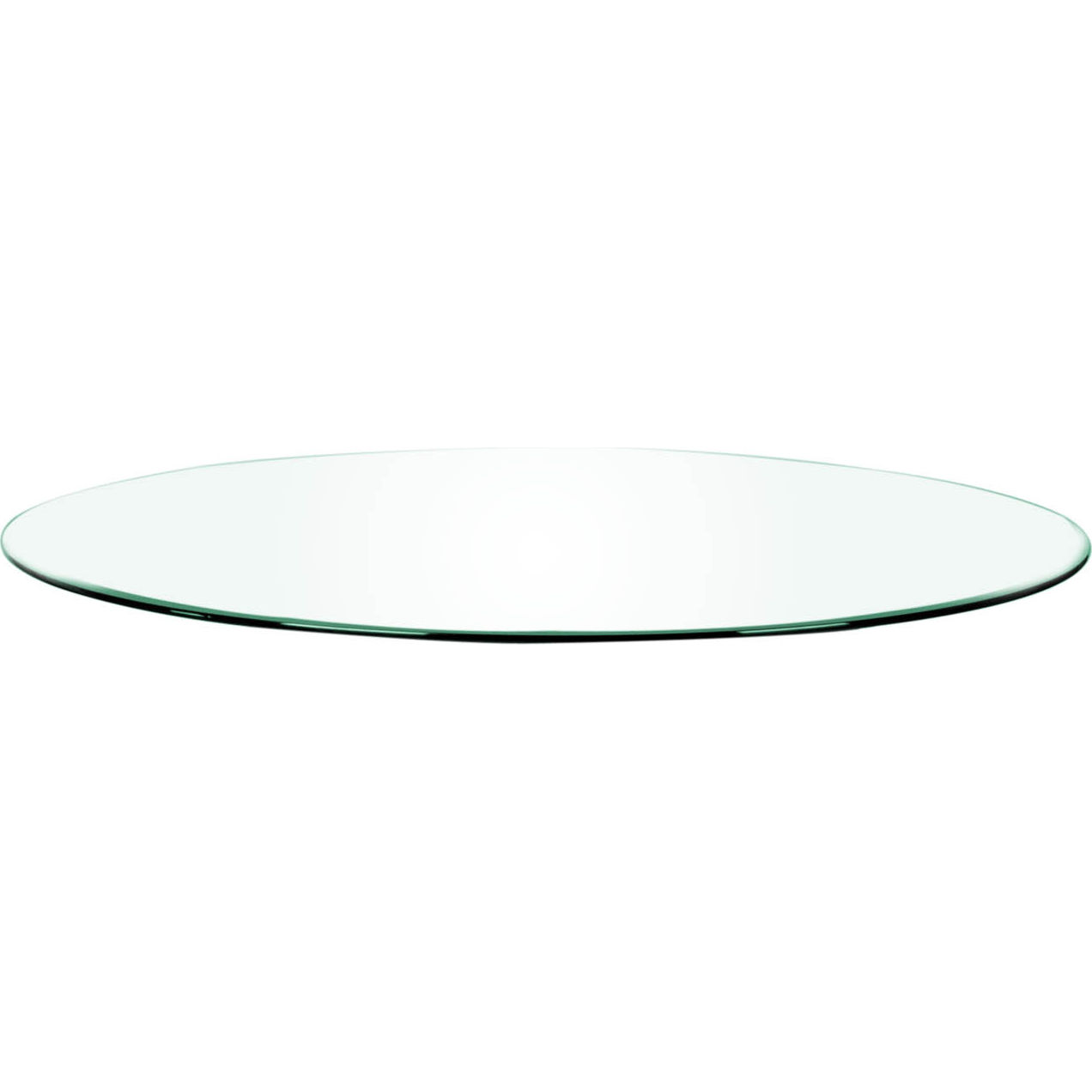 Efl E 0317 72rt Clr Clear Glass 72 Round Dining Table Top