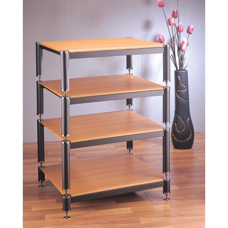 VTI BL Series 4 Shelf Extra Tall Modular U0026 Expandable Audio Rack In  Multiple Finishes
