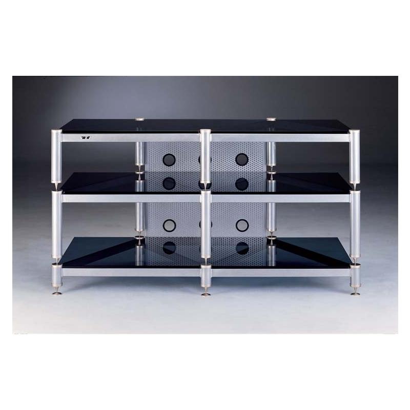 Vti Blg503 Blg Series 3 Glass Shelf Tv Stand Audio Video Rack In