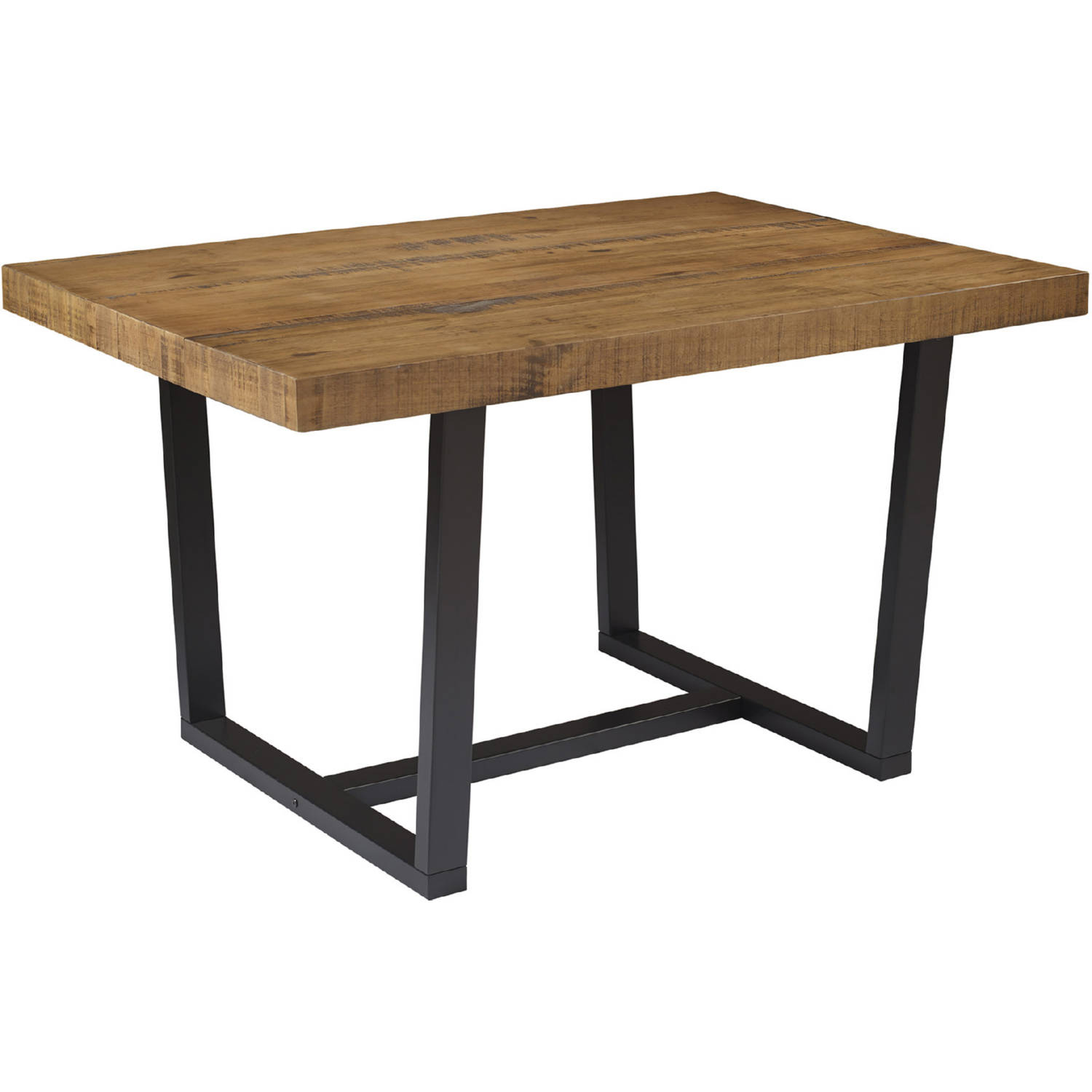 Distressed Solid Wood Dining Table