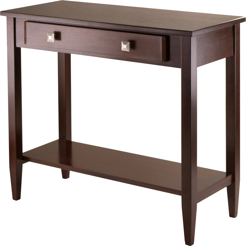 Chloe Foyer Table : Winsome richmond console hall table tapered leg in