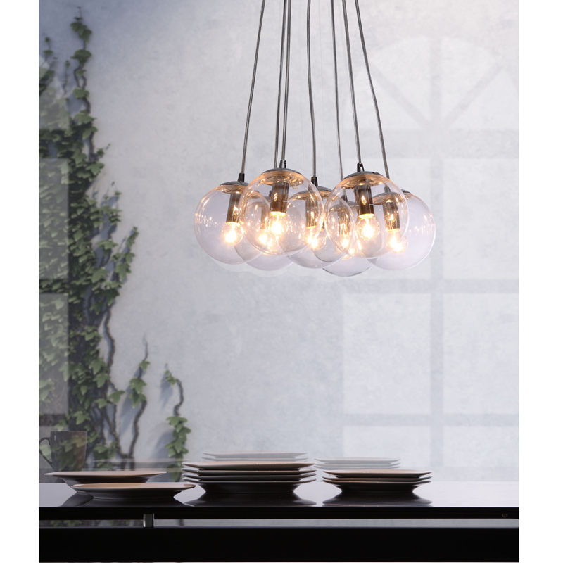 Zuo modern furniture decadence ceiling lamp clear hover to zoom